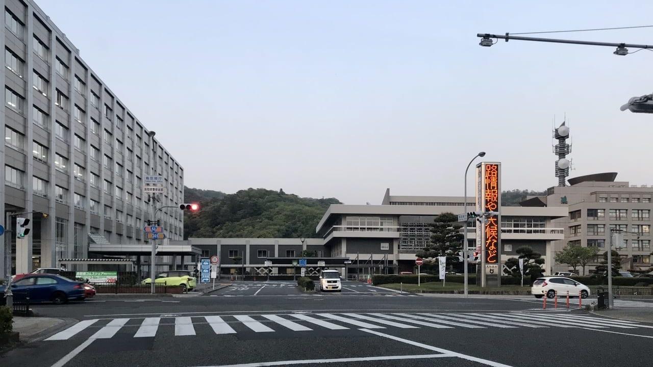 鳥取県庁の外観