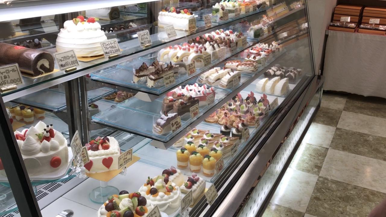 シャンティーのケーキ各種