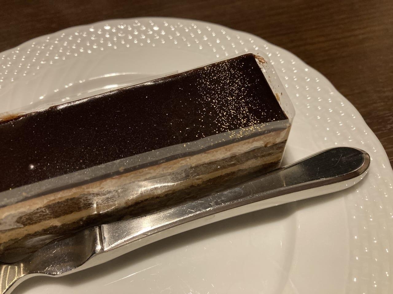 星乃珈琲のオペラケーキ
